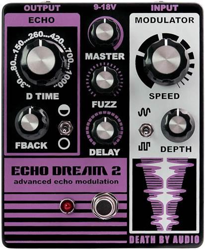 Death By Audio Echo Dream II Delay and Modulation Pedal