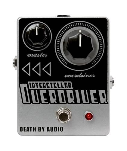 Death By Audio Interstellar Overdriver Distortion Pedal