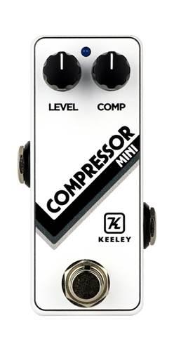 Keeley Limited Edition Compressor Mini White