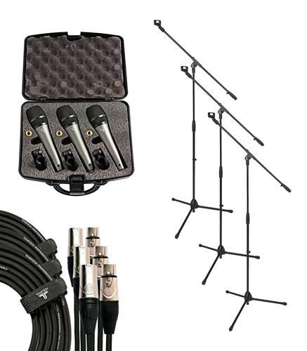 TOURTECH VM-50 3 x Mic Band Pack