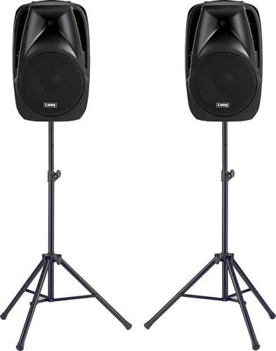 Laney Audiohub Venue AH112-G2 Speaker Pair with Stands