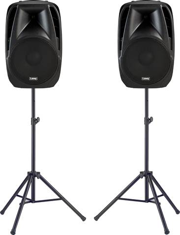 Laney Audiohub Venue AH115-G2 Speaker Pair with Stands