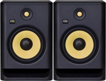 KrK Rokit RP8 G4 Active Studio Monitor (Pair)
