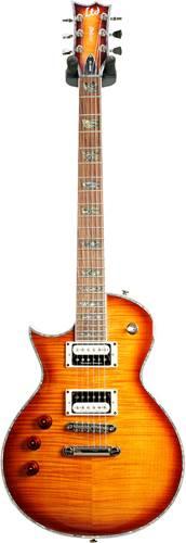 ESP LTD EC-1000 Deluxe Amber Sunburst Seymour Duncan Left Handed (Pre-Owned)