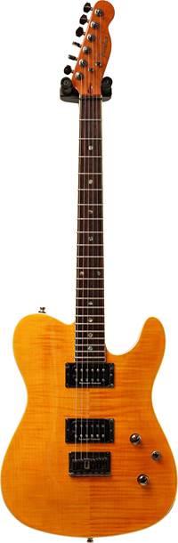Fender Custom Telecaster FMT HH Amber Rosewood Fingerboard (Pre-Owned)