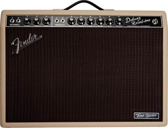 Fender Tone Master Deluxe Reverb Blonde (Pre-Owned)