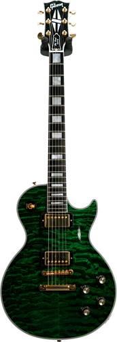 Gibson Custom Shop 1968 Reissue Les Paul Custom Quilt Emerald Green (Pre-Owned) #010088