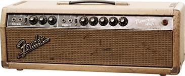 Fender 1964 Tremolux Head Blonde (Pre-Owned) #A01198