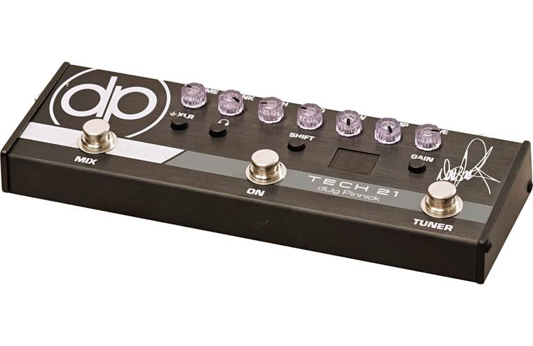 Tech 21 dUg Pinnick DP-3X Signature Bass Preamp and Distortion Pedal (Pre-Owned) #7949