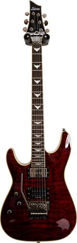 Schecter Omen Extreme 6 FR Black Cherry Left Handed (Pre-Owned) #N11010880