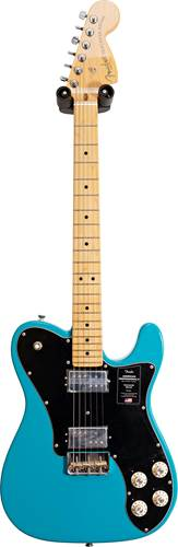 Fender American Professional II Telecaster Deluxe Miami Blue Maple Fingerboard (Pre-Owned) #US20049770