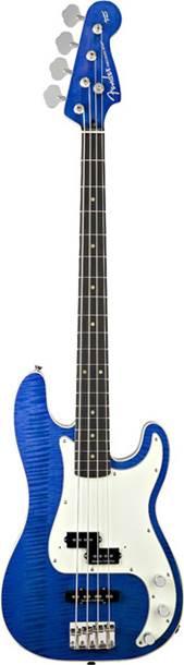 Fender Aerodyne Classic Precision Bass Special Blue Transparent