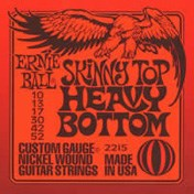 Ernie Ball 2215 Skinny Top Heavy Bottom 10-52