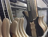 Our Visit to Mayones Guitars