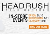 Headrush Pedalboard Events