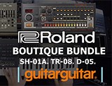 Our First Look: Roland SH-01A, D-05 & TR-08