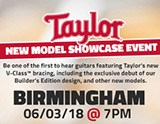 Showcase Event: Taylor V-Class Range
