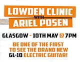 Events: Ariel Posen Lowden Clinic