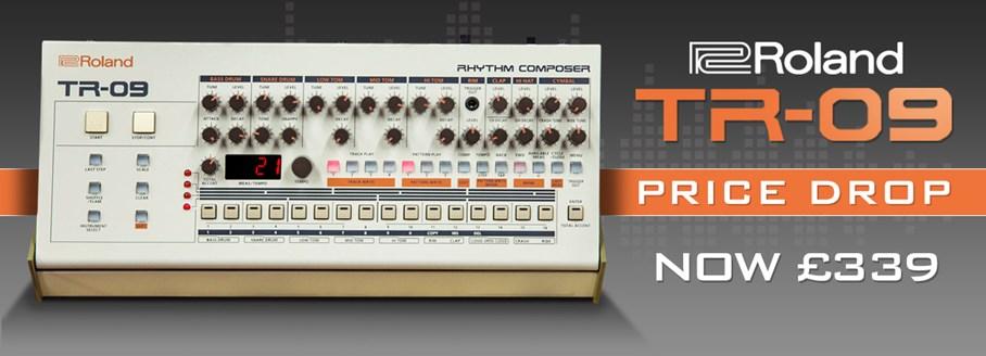 Roland TR-09 Price Drop