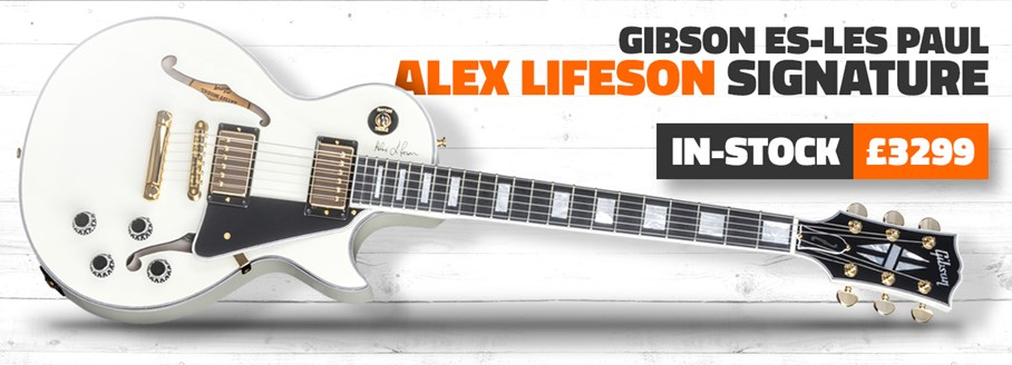 Gibson ES-Les Paul Alex Lifeson Signature Model