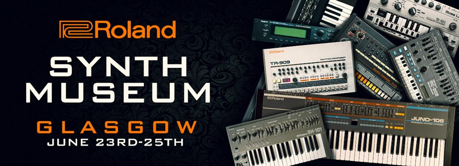 Roland Synth Museum Weekend Glasgow