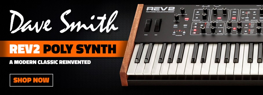 Dave Smith Rev2 Poly Synth