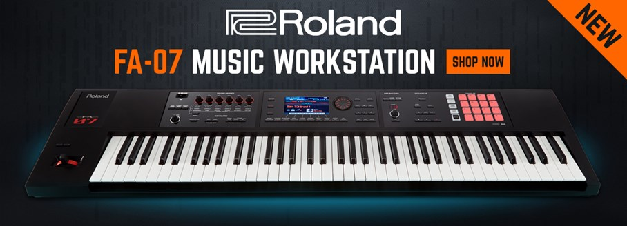 Roland FA-07 Workstation