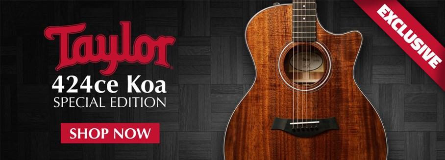 Taylor 424ce-K Koa Special Edition