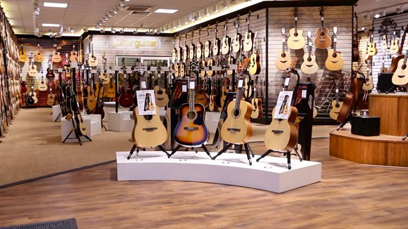 Dedicated Acoustic store