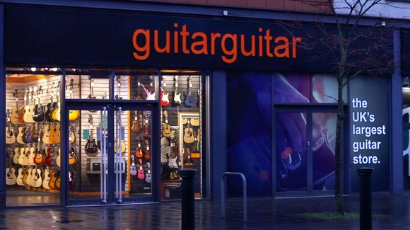 Find Your Local Guitarguitar Store