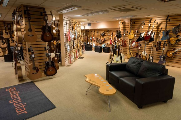 Largest selection of guitars in Northern England