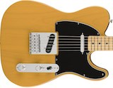 Fender announce Butterscotch Blonde Standard Series Telecaster