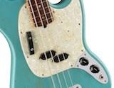 Fender JMJ Road Worn Mustang Bass | Justin Meldal-Johnsen Artist Signature Model