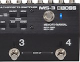 BOSS MS-3 Multi-Effects Switcher pedal