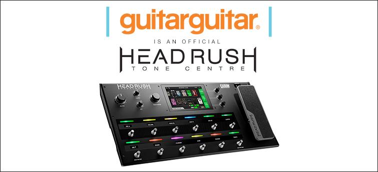 guitarguitar Becomes a Headrush Tone Centre!
