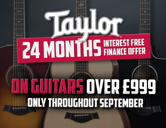 Taylor Guitars 0% for 24 months
