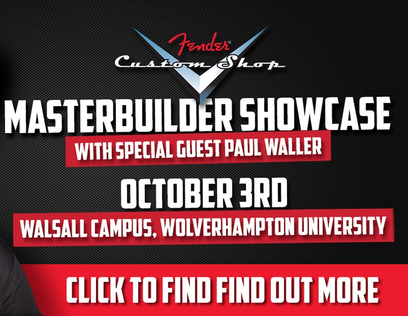 Events: Fender Custom Shop Showcase with Special Guest Paul Waller