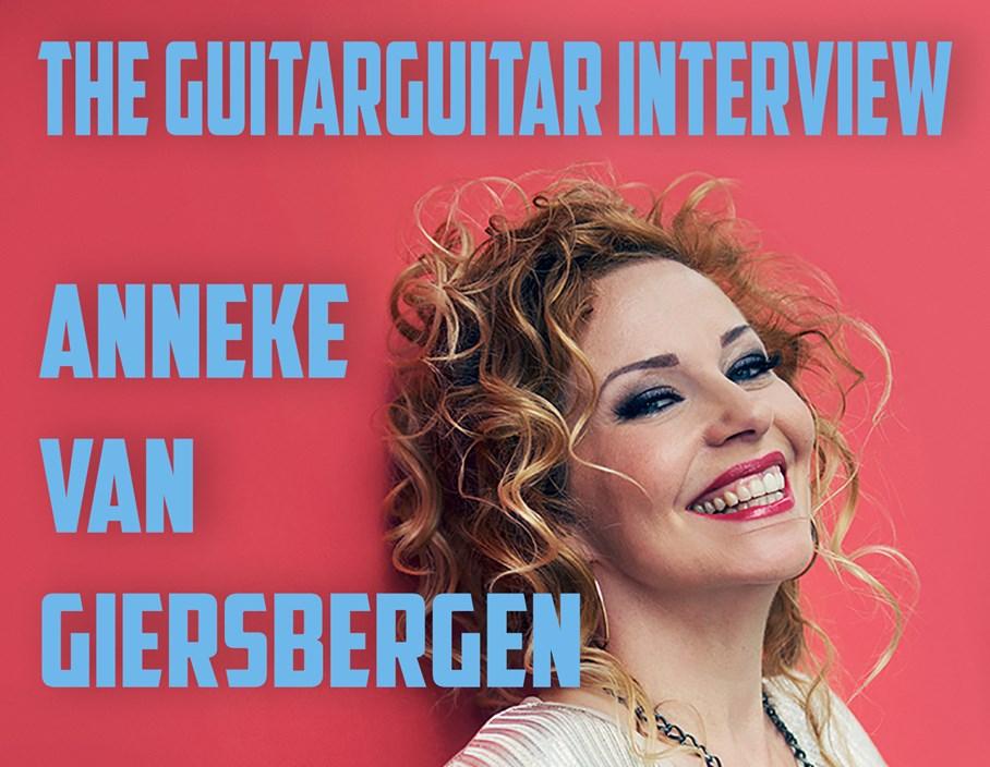 The guitarguitar Interview: Anneke Van Giersbergen