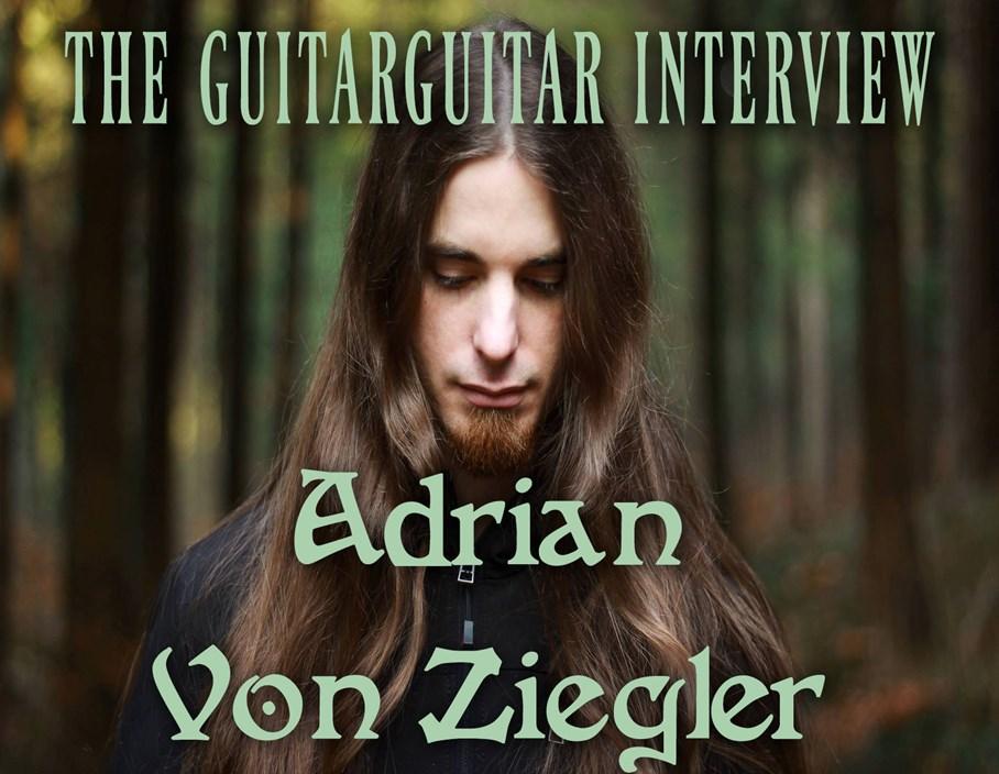The guitarguitar Interview: Adrian Von Ziegler