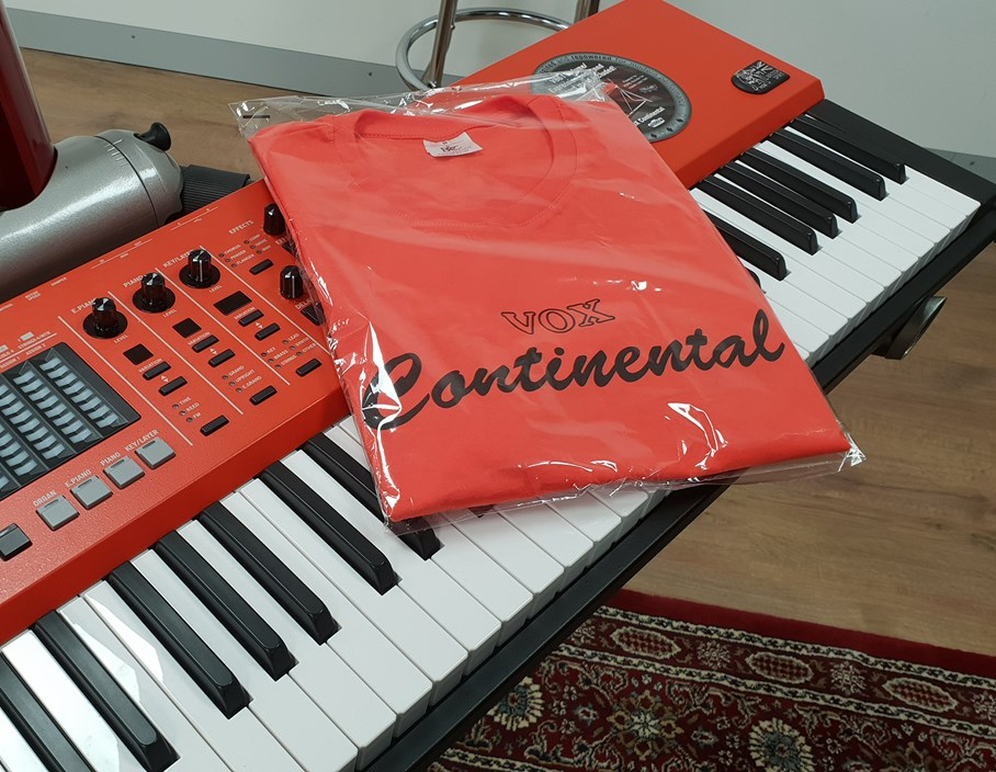 Events: Try out the Vox Continental and get a FREE T-Shirt!