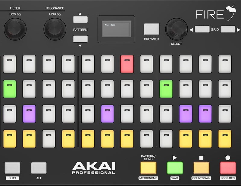 Just Announced: AKAI Professional FIRE