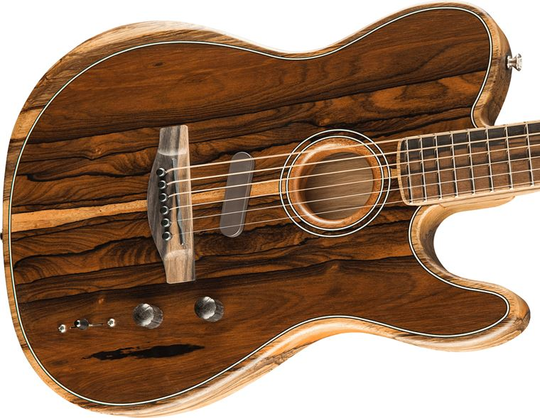 A Closer Look: Fender Acoustasonic Exotic Wood