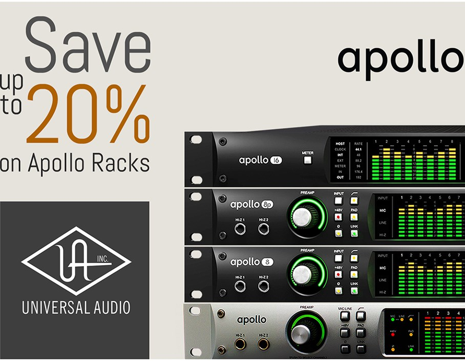 Offer: Save up to 20% on Apollo Racks