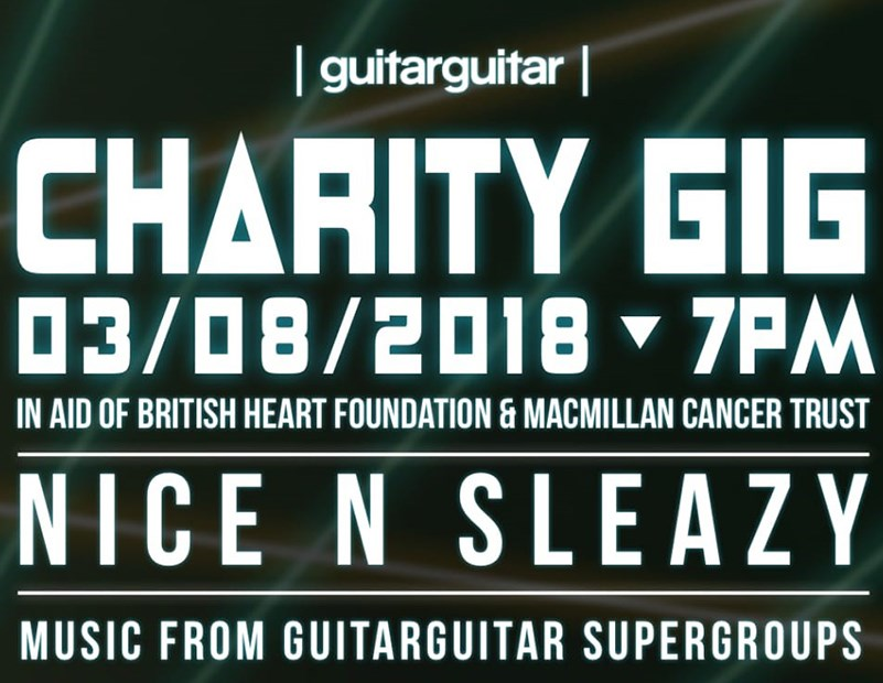 Events: guitarguitar Glasgow Annual Charity Gig