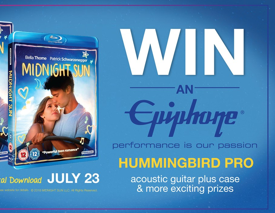 Competition: Win an Epiphone Hummingbird Pro with Midnight Sun