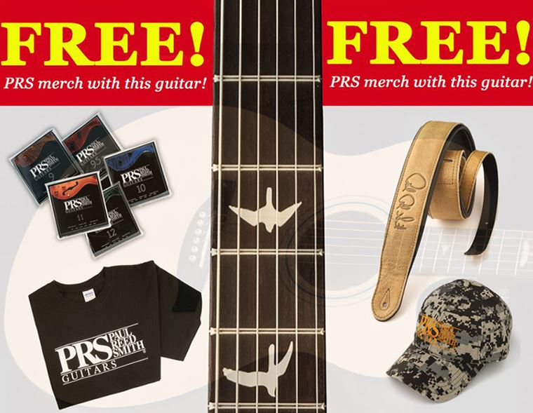 Offer: Free PRS Goodie Bag with SE series acoustic