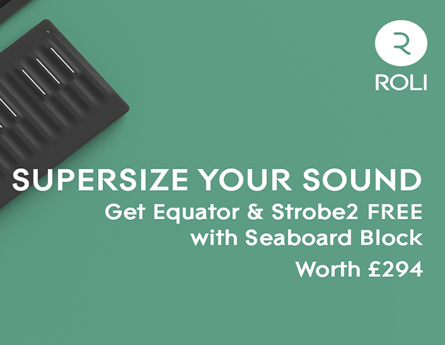 Offers: Get 2 FREE synths in ROLI's latest offer!