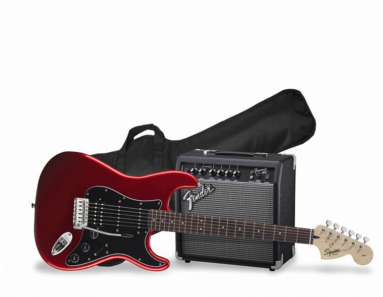 Squier Packs: Guitars and Basses