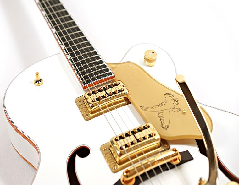 The Greatness of the Gretsch White Falcon