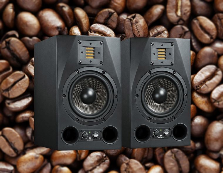 Offers: Receive A Year's Supply of Free Coffee with Adam A7X Studio Monitors